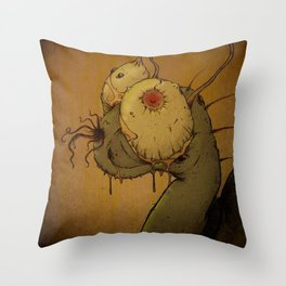 Steven the Snail Throw Pillow