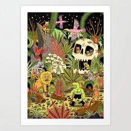 The Jungle Art Print