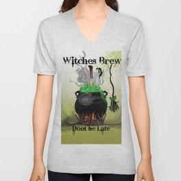 Witches Brew Ha Ha Unisex V-Neck