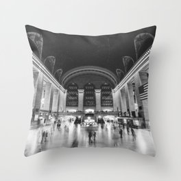 Grand Central Station in New York City Throw Pillow