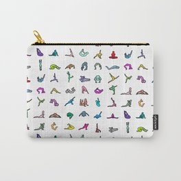 Rainbow Yoga Poses Carry-All Pouch