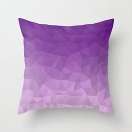 Purple Ombre - Flipped Throw Pillow