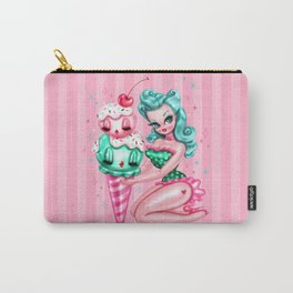 Ice Cream Pinup Doll Carry-All Pouch