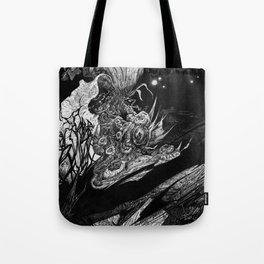 Flowering - Untitled Face III Tote Bag