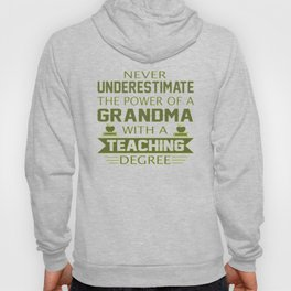 Grandma Teacher Hoody