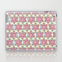 Metatron's Cube Sacred Geometry Laptop & iPad Skin