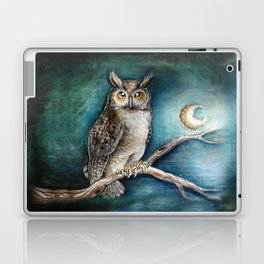 Moon Owl Laptop & iPad Skin