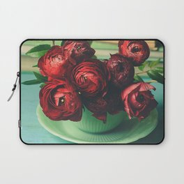 Books and Flowers Laptop Sleeve