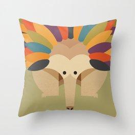 Echidna Throw Pillow