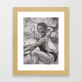 """Lovely Geisha """"JUNE"""" Framed Art Print"""