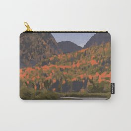 La Mauricie National Park Poster, Quebec Carry-All Pouch