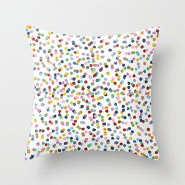 Blossom Petals II Throw Pillow