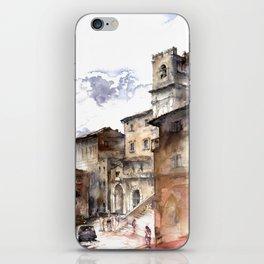 Cortona, Italy iPhone Skin