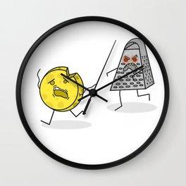 RUN CHEESE WHEEL! Wall Clock
