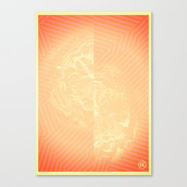 The Opulence Of A Clear Blue Sky Canvas Print