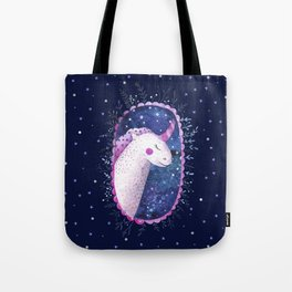 Unicorn - blue and purple Tote Bag