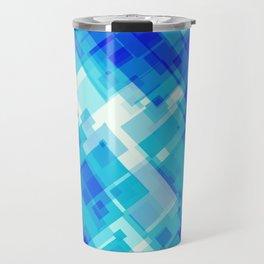 Digital Blue Pool Travel Mug