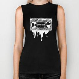 Moviesauce VHS - White Biker Tank