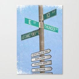 Springstreets Canvas Print