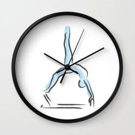 Pilates Inspiration Wall Clock