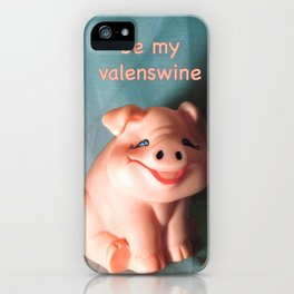 Refrigerator Pig iPhone Case