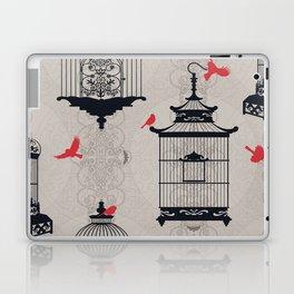 Kiss Empty Brid Cages Laptop & iPad Skin