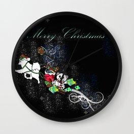 Samoyed Holiday Design Series No. 4 Wall Clock