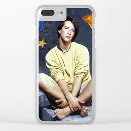 Keanu I Clear iPhone Case