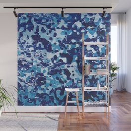 Surfing Camouflage #1 Wall Mural