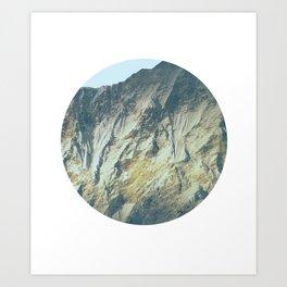 Steinfeld Winter Blue Art Print