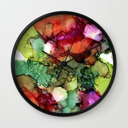 Spring to Summer Wall Clock