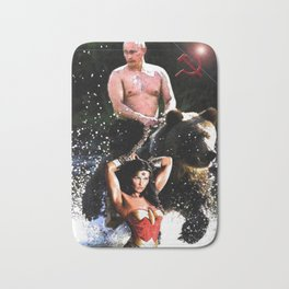 In Chains (WW with VP, Bear, Stream, Hammer and Sickle) Bath Mat