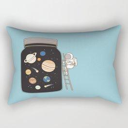 confined space Rectangular Pillow