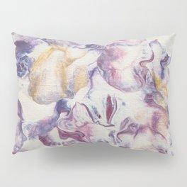 Purple parchment Pillow Sham