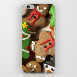 Delicious Christmas Cookies iPhone Skin