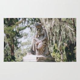 Bonaventure Cemetery - Statue of Eliza Wilhelmina Theus III Rug