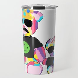 Rainbow bears Travel Mug