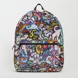 """""""Silliness"""" by RenPenCreations Backpack"""
