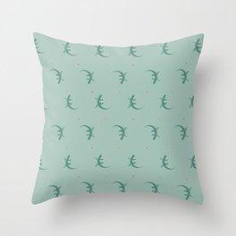 Lizard Throw Pillow