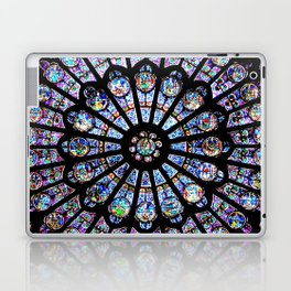 Cathedral Stained Glass Laptop & iPad Skin