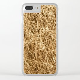 Christmas Tree - Wild! Clear iPhone Case