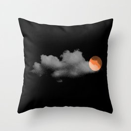 weather so changeable Throw Pillow
