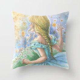 Fairytale Night Throw Pillow
