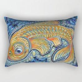 Lucky Fish Rectangular Pillow