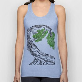 Bowing Tree Unisex Tank Top