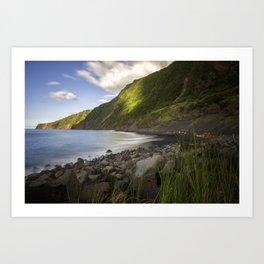 Faial Island Beach Art Print