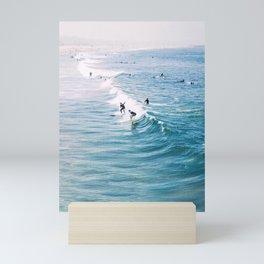 Catch A Wave Mini Art Print
