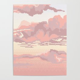 Lace Sky Poster