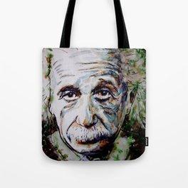 Albert Einstein - brainstorm Tote Bag
