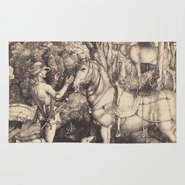 Albrecht Durer - Saint Eustace Rug